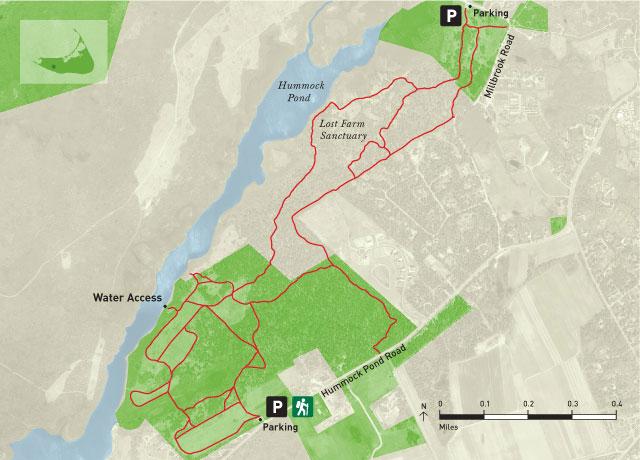 Gardner Farm Trail Map