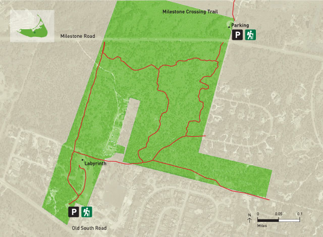 Hinsdale Park Trail Map