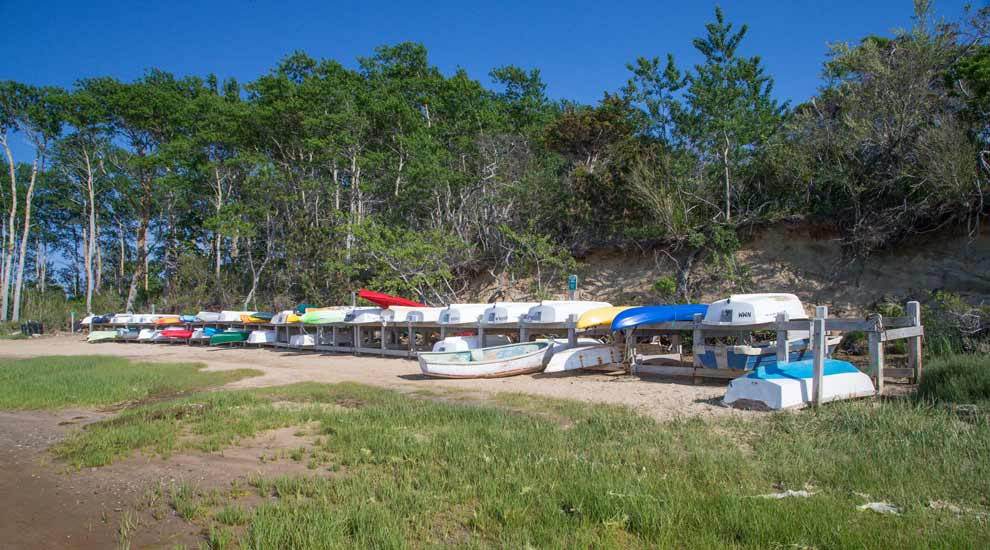 Boats Stored at Holly Farm